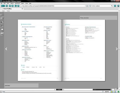 Acroflip, un service de PDF feuilletable