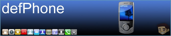 Theme pour Samsung u700v : defPhone