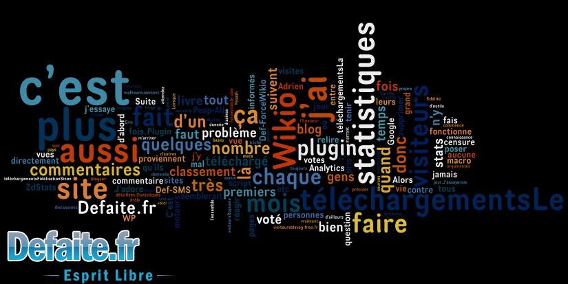 Nouvelle chaine de blogs : Nuage de Tags