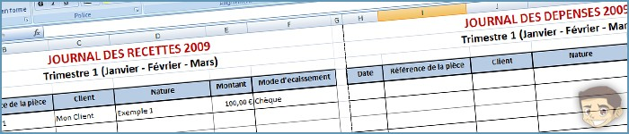 [Freelance] Journal Auto-entrepreneur (Fichier Excel)
