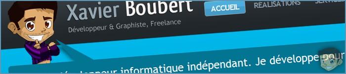 [Freelance] XavierBoubert.fr