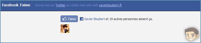 Ajouter le bouton «J'aime» de Facebook sur votre navigateur