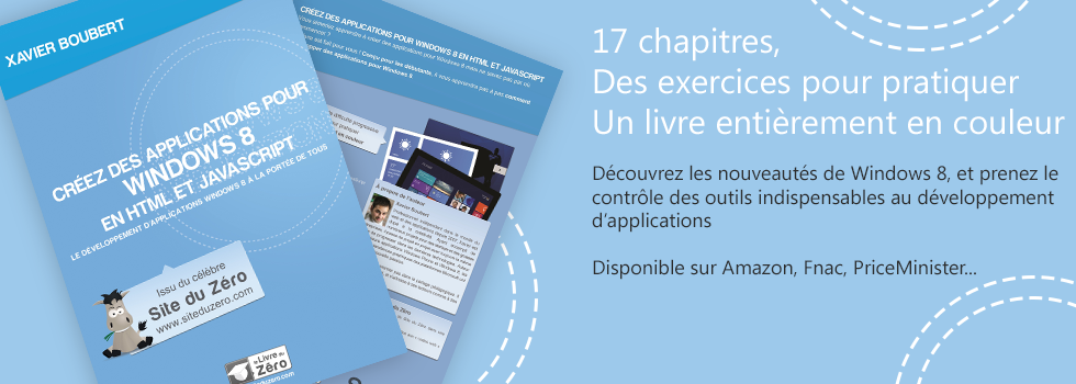 Développer des applications Windows 8