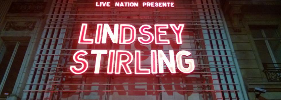 Concert historique de Lindsey Stirling