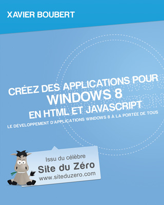 Livre creez des applications windows 8 a la une